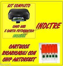 STAMPANTE MULTIFUNZIONE CANON PIXMA MG5750 MG 5750 INCL CARTUCCE RICARICABILI