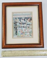 Barry Smith 'Bric-a-Brac' Watercolour Painting
