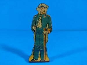 Marx Tin Lithograph Toy - Officer in Full Dress - 75 Pts - Soldiers of Fortune