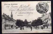 79699 AK Darkehmen Angerapp Kirchenstrasse um 1918 Elch Elentier