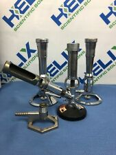 Lot of Fisher Scientific Bunsen Burners (3)