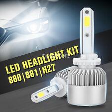 200W Bright LED 880 881 H27 Headlight Kit Low Beam Bulbs 6000K White High Power