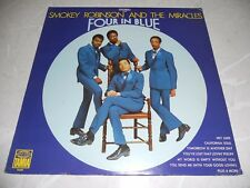 """Smokey Robinson And The Miracles """"Four In Blue"""" 1969 LP Funk Tamla EX"""