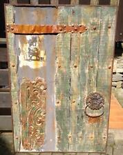 Holz Platte Bild Fenster Tür Deko 120x80cm  ANTIK STYLE