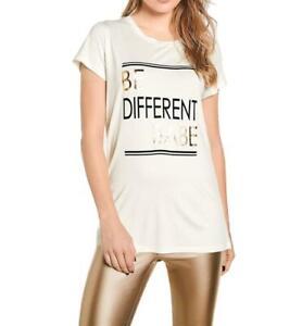Damen Druckshirt mit Trendstarker Print Figurbetonte Form  GR. 40 / L für dein J