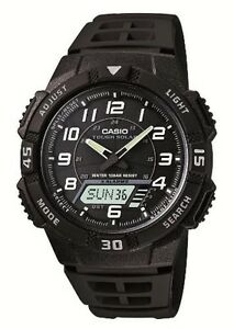 CASIO Standard Tough Solar AQ-S800W-1BJF Mens watch With Tracking  Japan import