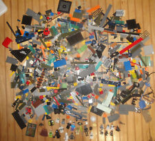 Lot of Lego Star Wars Set Parts, Minifigs Yoda Minecraft Skeleton + Other Pieces