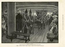 1886 - Antique Print FINE ART World Went Very Well Walter Besant Soldiers  (165)