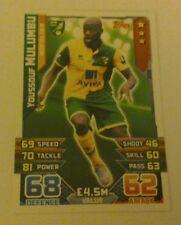Match Attax 15/16 football card Youssouf Mulumbu #209
