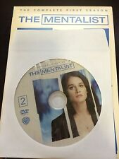 The Mentalist - Season 1, Disc 2 REPLACEMENT DISC (not full season)