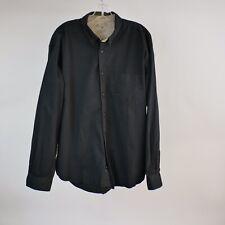 Austin Clothing XL Western Shirt Black L/S Button Front Rodeo