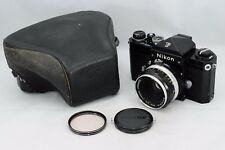[RARE] Nikon F Eye Level 35mm Film SLR Black Camera Body  50mm F:2 from JAPAN