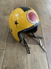 EVEROAK RACEMASTER 1960'S MOTORCYCLE HELMET CLASSIC British Formula Racing Club