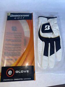 NEW Bridgestone Golf 'e' Glove Leather Size S Regular Left Hand Cabretta Leather