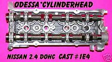 FOR NISSAN ALTIMA GLE 2.4 DOHC #1E4 COMPLETE CYLINDER HEAD  REBUILT