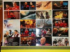Trading Cards STAR TREK - Générations Kirk et Picard - 20 cartes editées en 1994