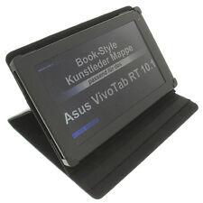 Tasche für Asus VivoTab RT 10.1 Book Style Schutz Hülle Tisch Halter schwarz