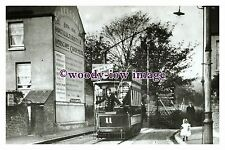 a0705 - Dover Tram 11 at River Tram Terminus - photograph
