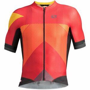 "Giordana Cycling  Short Sleeve Jersey FR-C PRO Moda ""Vette""|Red/Orange/Black|NEW"