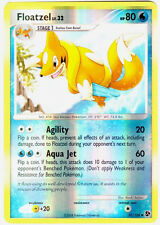 Floatzel Reverse Holo Uncommon Pokemon Card DP4 Great Encounters 37/106
