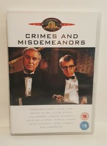 CRIMES AND MISDEMEANORS (1990) DVD Caroline Aaron  Woody Allen, UK R2 DVD