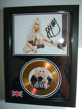 the pretty reckless    SIGNED FRAMED GOLD CD  DISC 02
