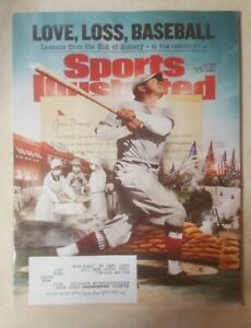 Sports Illustrated July 2020 Babe Ruth Boston Red Sox
