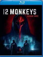 12 Monkeys: Season 3 [New Blu-ray] Manufactured On Demand, Widescreen, 2 Pack,