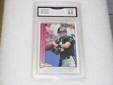 Brett Favre GRADED ROOKIE CARD!! 1991 Pacific #551 Packers HOFer!! 8.5%-1