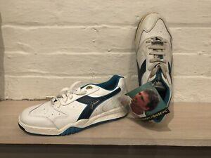 diadora Vintage OG Goran Ivanesevic Action Tennis Shoes
