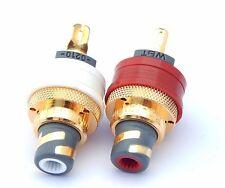 WBT RCA Enchufe WBT 0210 corre NextGen conductor de cobre puro de señal Juego de 2