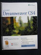 Adobe Dreamweaver CS4, Basic, ACE Edition [With CDROM] (ILT) [Spiral-bound] [A..