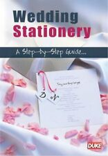 Show Me How Wedding Stationery A Step By Step Guide (New DVD)