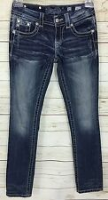 Miss Me Straight Jeans Style JE8040TR Size 25 x 31