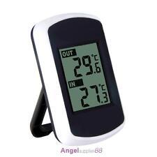 Digital Wireless Thermometer Clock Weather Home Indoor Outdoor Temperature Test