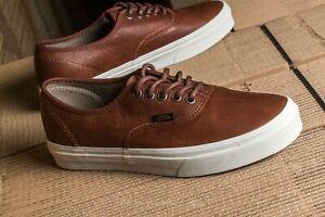 VANS Leather Upper Shoes for Men 7.5 US Shoe for sale | eBay