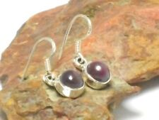 RUBY   Sterling  Silver   925   Gemstone  EARRINGS   -  Gift Boxed!!