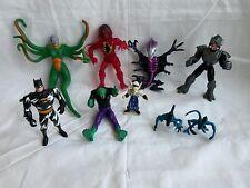 Action Figuren vintage Konvolut Batman Xanatos Echinda Lizard Finster Predator