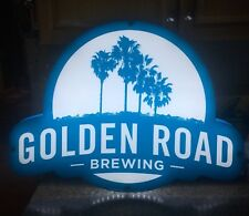 """GOLDEN ROAD LED Neon BEER SIGN BIG NEW IN BOX 27x20x1"""".25 Thick BRAND NEW !!!"""