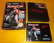 ROBOCOP Nintendo Nes Versione Inglese PAL A ○○○○○ COMPLETO