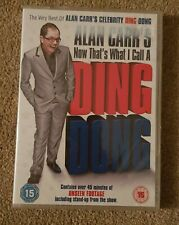 NEW & SEALED DVD - Alan Carr's Now That's What I Call A Ding Dong (2008)
