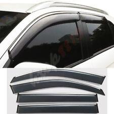 For 2013-2018 Mitsubishi ASX  Window Visor Sun Rain Vent Guard 4pcs Silver Strip