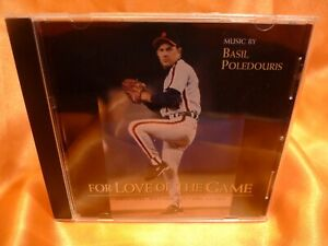 "BASIL POLEDOURIS ""FOR LOVE OF THE GAME"" beautiful Score SOLD OUT OST CD"