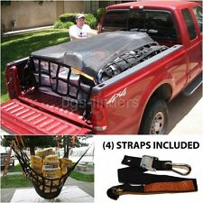 Pickup Truck Cargo Net Adjustable Heavy Duty Car Bed Trailers 6.75'x8 Cover Load