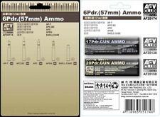 AFV Club 35174 6 Pdr 57 mm Ammunition 1/35 scale