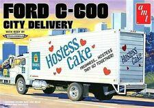 AMT Models 1:25 Ford C-600 City Delivery Truck Model Kit