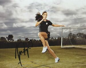 Alex Morgan Signed 8×10 Photo Team USA World Cup Soccer Autographed COA