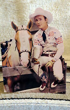 "Roy Rogers & Trigger ""King of the Cowboys"" Figure Tabletop Display Standee 10"""