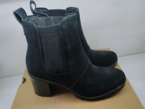 NEW UGG Hazel Waterproof Block Heel  Bootie Black Size 7.5