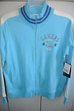 Los Angeles Lakers-G3 Wms XL  Zipper Warm-Up Jacket Hardwood Classics/NWT